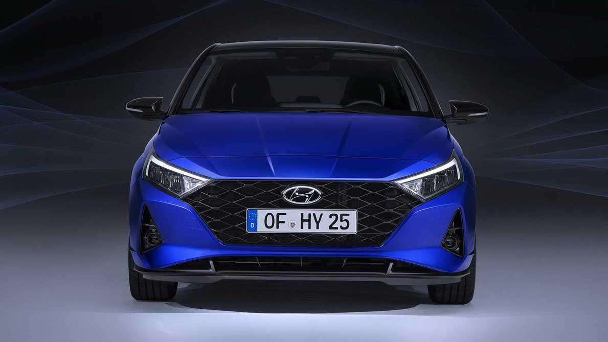 2021 Hyundai I20 即将登场,导入最新家族设计,外观十分炫酷!