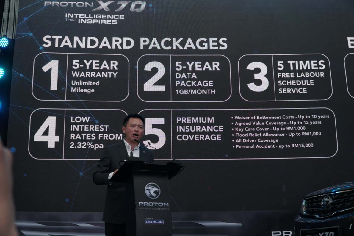 Proton X70 CKD 正式发布,配备更加丰富,售价减低至 RM94,800