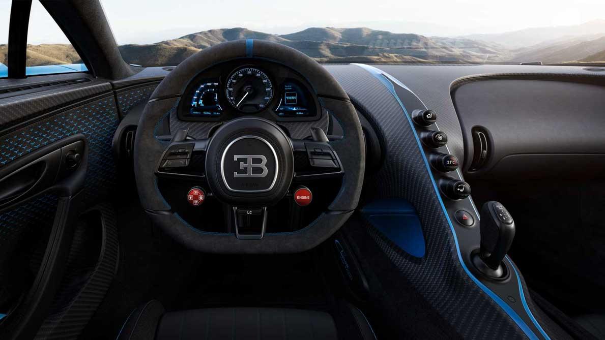 Bugatti Chiron Pur Sport 登场,最大马力1500Hp!