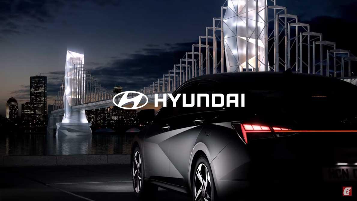 新一代 Hyundai Elantra 官方预告已释出,采用全新外观设计,势必成为同级对手中最帅的车款