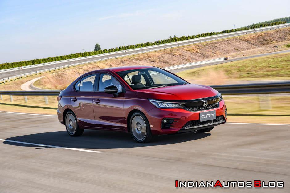 2020 Honda City 规格曝光,将拥有 Honda Lanewatch 以及许多丰富的配备