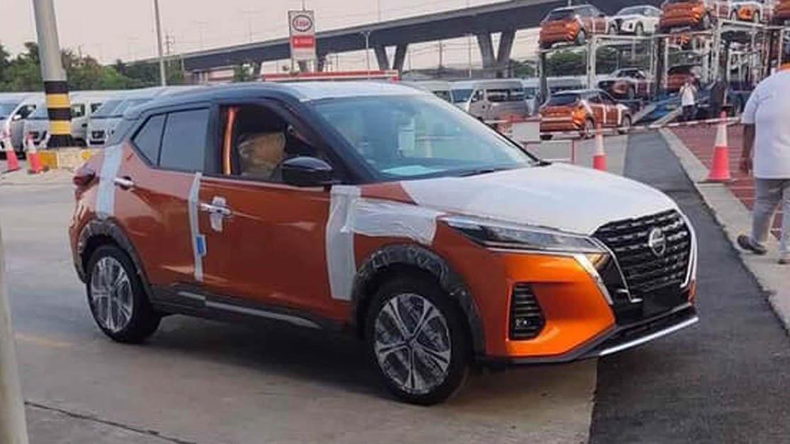 小改款 Nissan Kicks 现身泰国市场,或将在今年登陆我国?