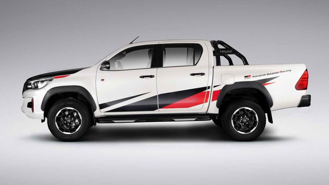 Toyota 将推出 GR Hilux 性能皮卡车,最大马力达到268Hp