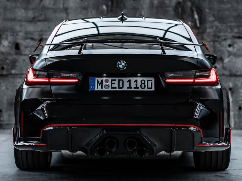 BMW M3 Competition + M Performance Parts
