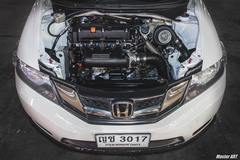Honda City K24 Turbo