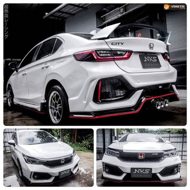 Honda City NKS Design