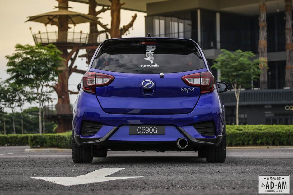 Perodua Myvi Gen3 Modify