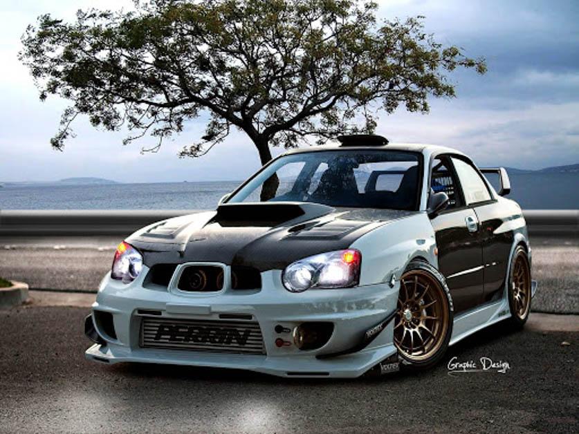 Subaru Impreza Version 8-