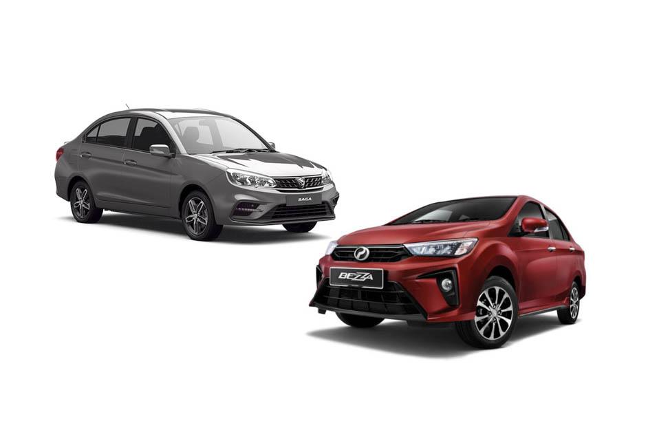 Proton Saga VS Perodua Bezza