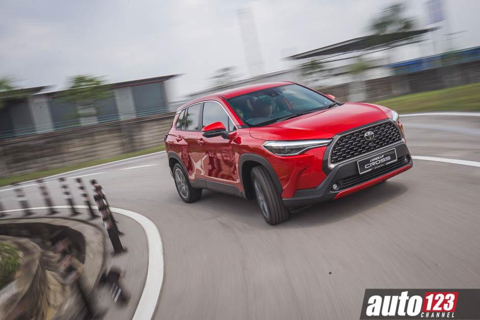 2021 Toyota Corolla Cross Maintenance and loan