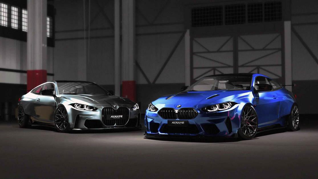 BMW M4 Widebody By Avante Design