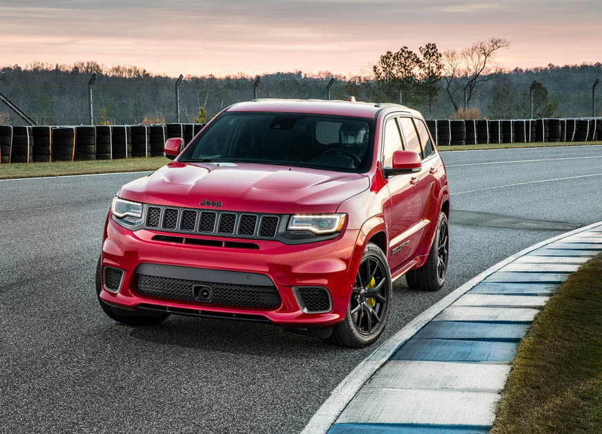 Jeep Grand Cherokee Trackhawk New Car