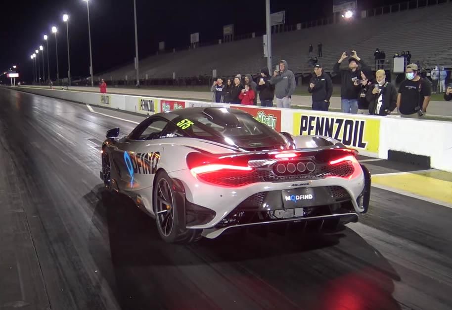 McLaren 765LT 0 - 100 1.9 secs