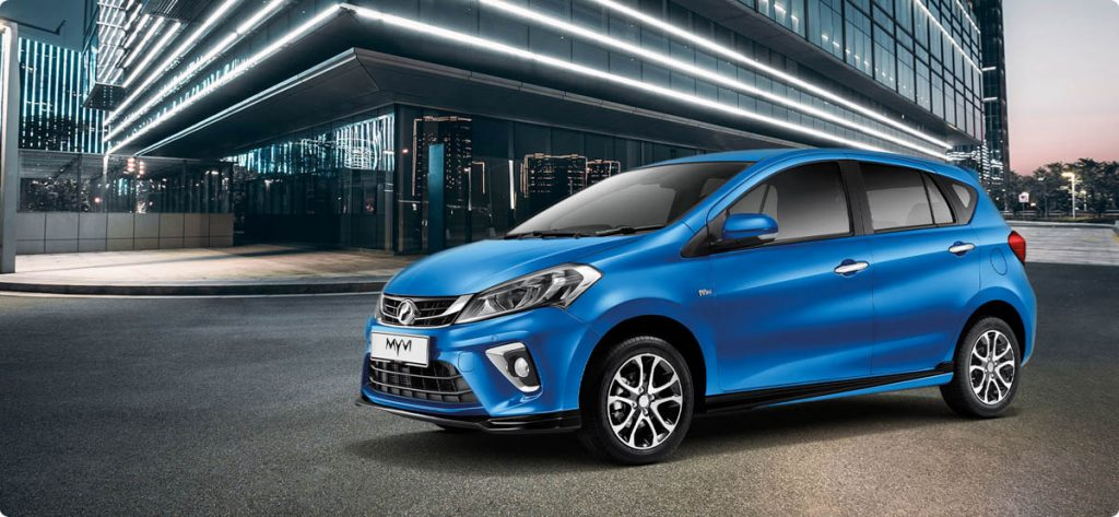 Perodua Myvi for youngster