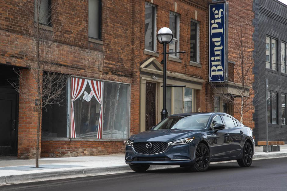 2021 Updated Mazda 6 New Car