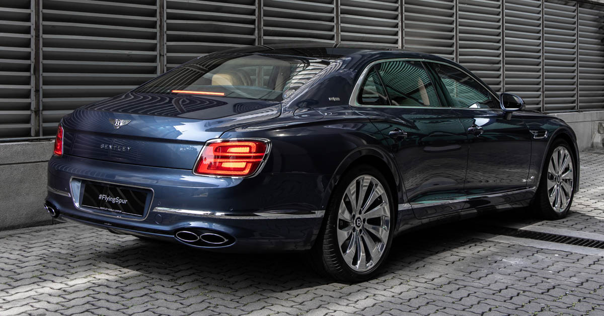 2021 Bentley Flying Spur V8 in Malaysia