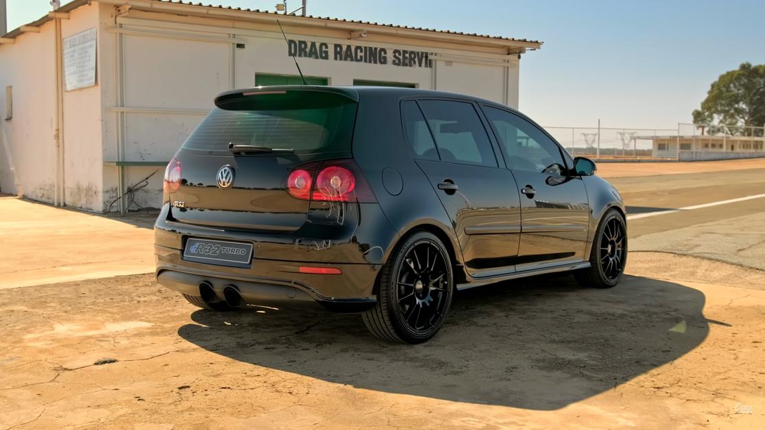 1000Hp Volkswagen Golf R32